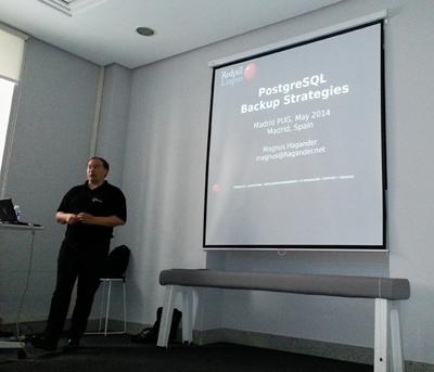 Magnus Hagander. PostgreSQL España