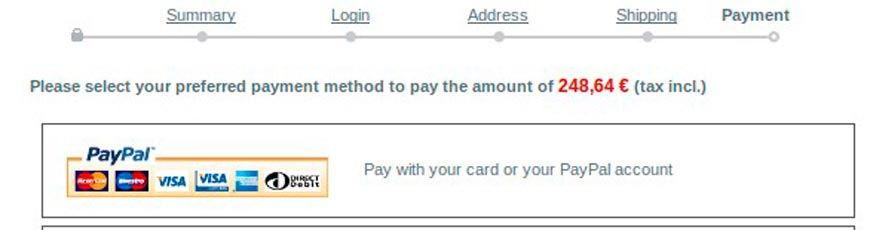 modulo prestashop PayPal