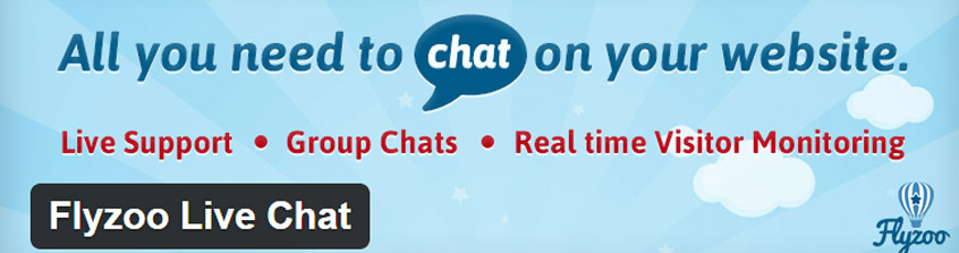 plugin flyzoo live chat wordpress