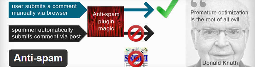 plugin wordpress antispam