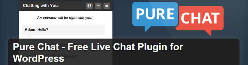 plugin pure chat wordpress
