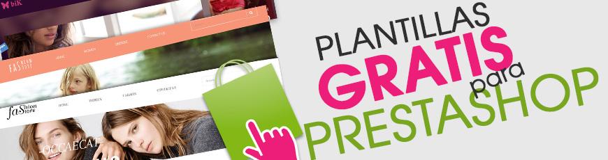 Plantillas gratis para PrestaShop