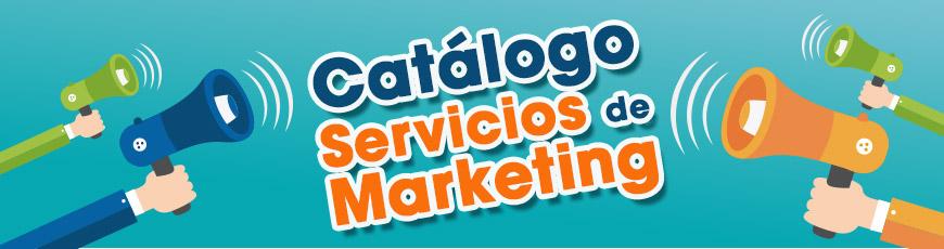 Catálogo de servicios de marketing