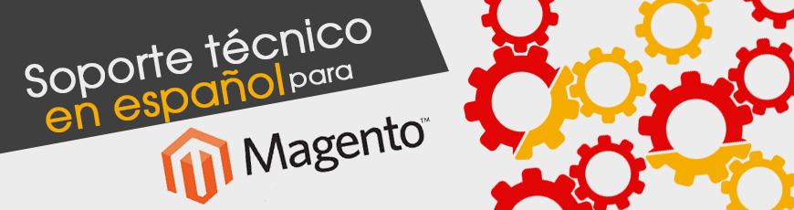 Soporte de Magento en español