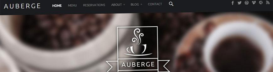 plantilla gratis wordpress auberge