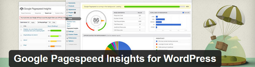 plugin Google Page Speed Insights